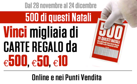 Vinci Carte Regalo Feltrinelli