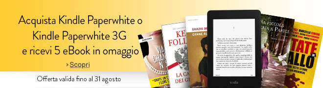 kindle paperwhite 5 ebook gratis