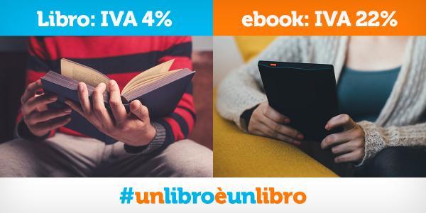 un libro è un libro iva al 4%