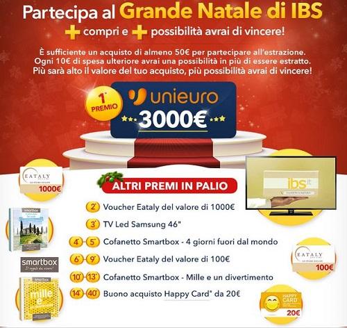 concorso Il Grande Natale di IBS