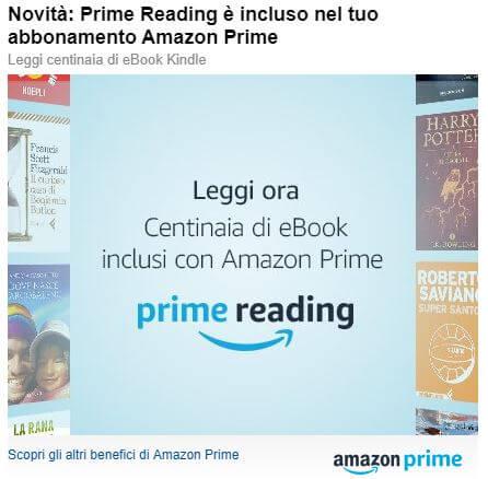 Amazon Prime novità