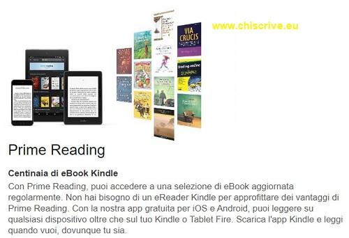 Amazon Prime Reading presentazione